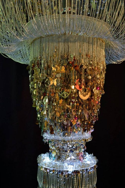 Chandelier of Lost Earrings @ Manchester Maternity Ward
